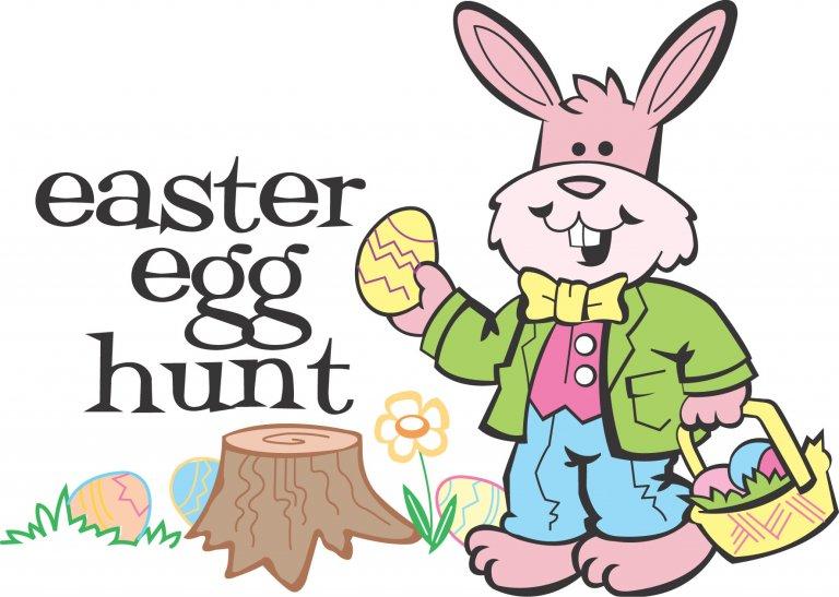 Free Easter Egg Hunt Clipart